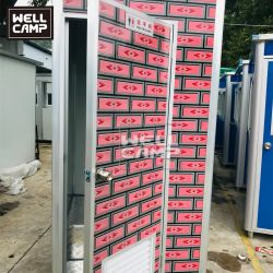 مرحاض بسيط قابل لإعادة التصنيع، لوحة ساندويتش قابلة لإعادة التصنيع مصنوعة مسبقًا من قبل EPS