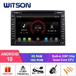 Witson Quad-Core Android 10 coche reproductor de DVD GPS para el KIA SPORTAGE 2016 construido en función DVR