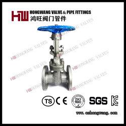 스테인리스 산업 미국 독일 표준 수동 플랜지 게이트 밸브 (HW-GV 1003년)