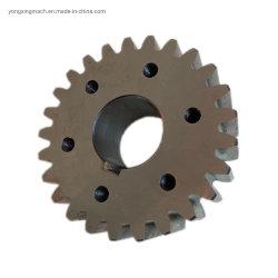 Attrezzo di dente cilindrico d'acciaio personalizzato fornitore del metallo del piccolo modulo dell'OEM per le macchine