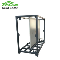 Custom Control Industrial Equipos de red eléctrica bastidor de metal armario rack