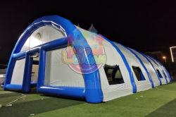 36mx18mの防水膨脹可能な気密のテニスコートのテント