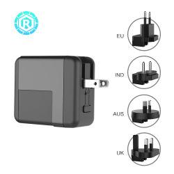 36W de type C pd rapide chargeur mural portable avec adaptateur de voyage pour iPhone pour Samsung téléphones cellulaires mobiles