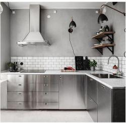 Bei armadi da cucina esterni moderni del BBQ dell'acciaio inossidabile degli armadi da cucina
