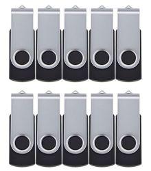 USBのメモリ棒32GB Pendriveのフラッシュ駆動機構USB 2.0の64GB旋回装置のキーの親指のロット