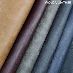 جلد طبيعي منحل للأحذية الأكثر مبيعًا (WD19081)