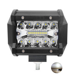 Car LED Fog Light 4 InchのためのトラックのAccessoriesレーザーOffroad Dual Row LED Light Bar 60W Spot LED Work Light Lamp