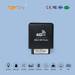 4G OBD2 vehículo Tracker GPS con Ota, odómetro, remolque, Turn-Over alarma, el diagnóstico (EF)
