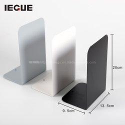 Conception simple livre de métal stand stand Support serre-livres Livre noir