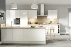 Fornecimento de fábrica verniz brilhante de alta qualidade de armários de cozinha