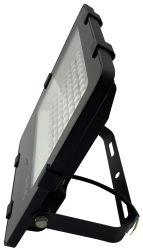 屋外エリアフラッドライト 100W (ポール搭載スポーツ道路用) 同等の 800W HID/HPS 交換 5000K 作業現場照明 PLC ディマー 150lm/W IP66 防水