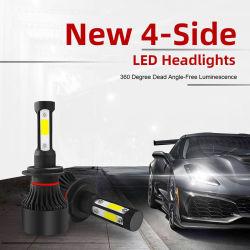 4 der Seiten-LED des Scheinwerfer-H4 LED Automobil-Lampe Motorrad-des Licht-H7 H11 LED