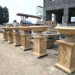Im Freien klassischer dekorativer Stein-Pflanzer (GSP-120)