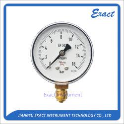 Pressão de oxigênio Gauge-Nitrogen Gauge-Acetylene pressão do manômetro de pressão