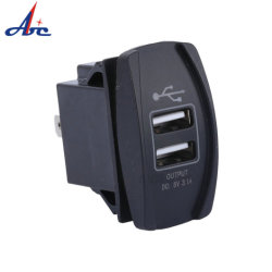 Automatische boot 5V 3.1A Mobile Dual 2 USB-autolader