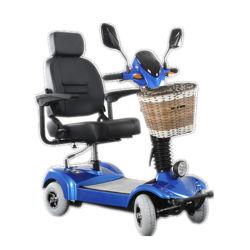 Quatro Rodas a dobragem Mobilidade Scooter de mobilidade eléctrica