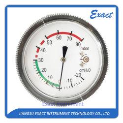 캡슐 측정하 통풍기 압력 측정하 Mbar 압력계