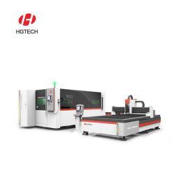 Hgtech는 금속 장을%s 무쇠 침대 1000W 섬유 Laser 절단기를 통합했다