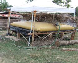 農場の潅漑のための折りたたみおよびFoldable PVC水貯蔵タンク