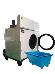 Hotel Equipamento basculante de secagem de roupas 120kgs/250kg com radiador de Aço Inoxidável