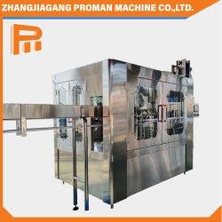 자동 음료 솔루션 포장 라인 광물물 순수 충전 기계