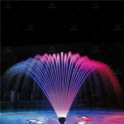 Fuente de agua de la música al aire libre con Peacock-Shape para Park Plaza