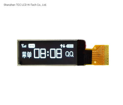 شاشة عرض LCD بيضاء مقاس 0,91 بوصة مقاس 128X32، وحدة SPI من السلسلة OLED مع SSD1306