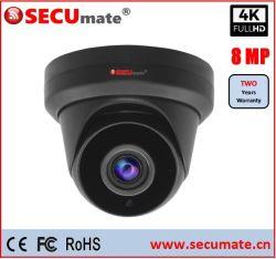 동축 8MP TVI AHD 소니 Starvis CMOS Hikvision OEM 4K CCTV 카메라