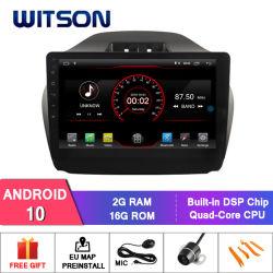 """Grand écran 10,2"""" Witson Android 10 DVD de voiture pour Hyundai IX35 (basse avec moteur 2.0L) 2008-2013"""