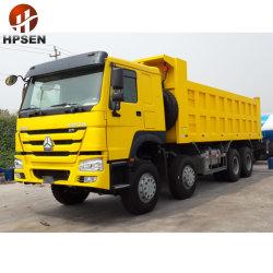 40tonne 8X4 Heavy benne des camions utilisés HOWO camion à benne basculante de transfert