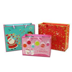 Het Winkelen van de Zak van de Gift van het Handvat van de kerstavond de Zakken passen aan