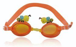 Lunettes de natation pour enfants (4-12) Conception d'étanchéité de l'âge, incassable Anti-Fog lentille -100% UV Protection