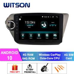 Witson Octa-Core Android 10 автомобильной аудиосистеме для KIA 2012-2015 K2/Рио-4 ГБ оперативной памяти 64Гб точкахи встроенный регистратор/DAB/БСД