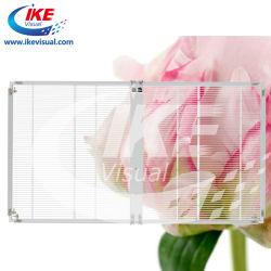 Janela transparente de LED da tela com excelente desempenho LED Móvel Ecrã gigante transparente tela LED de parede de Cortina