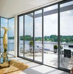 Casement schuifbare inklapbare aluminium ramen met soorten Hung Fixed Kantelbaar Turn Styles aangepaste kleur Optioneel Glas van getemperd gelamineerd Geluidshittebestendig glas