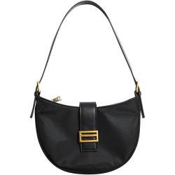Trendy sac nylon Underarm Designer femmes sac noir de marque de la Baguette SAC SAC DE LUXE Fashion épaule unique Mesdames les sacs à main