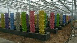 Fiore di plastica Pot Giardino piantando verdure Fiori