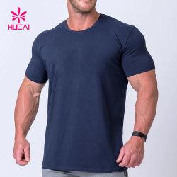 Kundenspezifisches athletisches Shirt-Halsausschnitt-Mann-Sport-Kleiden