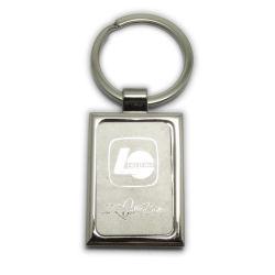 Nuovo che propri il metallo della catena chiave del regalo di disegno perfezionamento il marchio trattato di placcatura del laser personalizzano