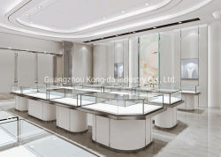 Jóia moderna Cabinet luz LED Jóias Mostruário de exibição