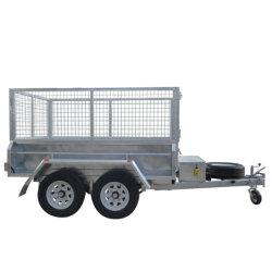 10X5ft caixa basculante Hidráulico do Reboque local 2t