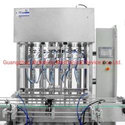 Automatic/alcohol desinfectante químico/higienizador/Bleach/Líquidos de limpieza/Leche/botella de agua y vinagre de la gravedad de etiquetado de limitación de llenado de llenado de embalaje