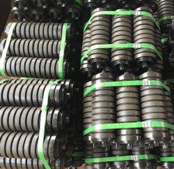 Ske rodillo transportador de rodillos de impacto, el disco de goma Rodillos de retorno, espiral rodillo, rodillo de acero, rodillo de soporte