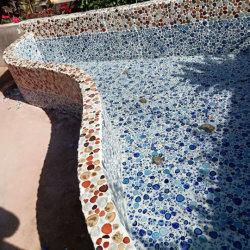 屋外の小さい破片セラミックモザイクタイルのプールモザイク