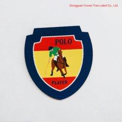 Polyester 100% Geweven Etiket voor het Overhemd van het Polo