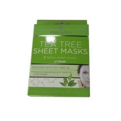 Maatwerk bedrukte stoffen vellen Maskers Cadeaupapier Verpakkingsdoos Voor huidverzorging
