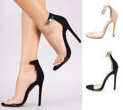Moda sandálias de salto alto Sexy tira as sandálias das mulheres de travamento do tornozelo