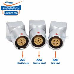 ZZG.1B.303.HLN Zzg/Zza/Zzj 1b3핀 인쇄 유형 소켓 푸시-풀 자체 잠금 커넥터 제조업체 독점