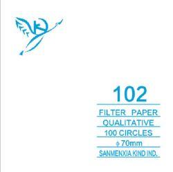フィルターペーパー、化学分析フィルターペーパー、質的なフィルターペーパー