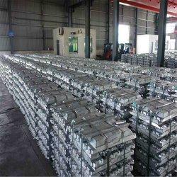 Lingotes de alumínio A7 grau 99,5% 99,6% 99,7% 99,99%